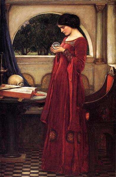 waterhouse - la sfera di cristallo